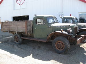 Another shot of the Power Wagon.  It needs some work (or a total restoration), but was very solid all around.